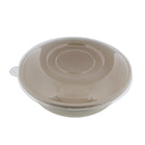 Sugarcane Bowls & Lids, Disposable Bowls Biodegradable Bowls 28oz 50pk