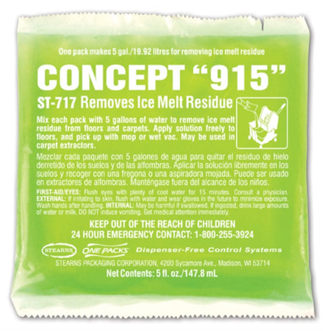 One Pack Concept 915 Ice Melt Residue Remover