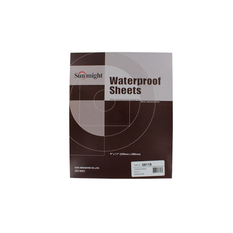 Waterproof Sanding Sheets