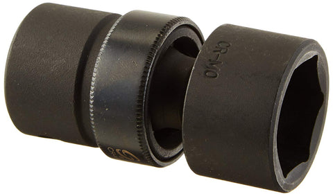1/2-Inch Drive Universal 6-Point Impact Socket 15/16-Inch