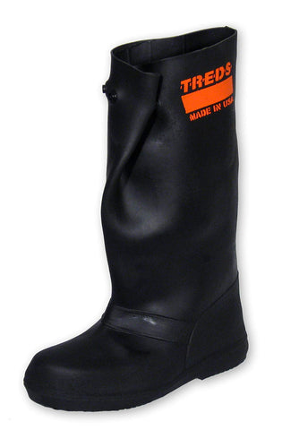 "17859 17"" Pull-On Stretch Rubber Overboots, Size X-Small"