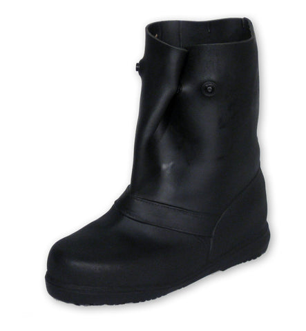 "Super Tough 12"" Pull-On Stretch Rubber Overboots"