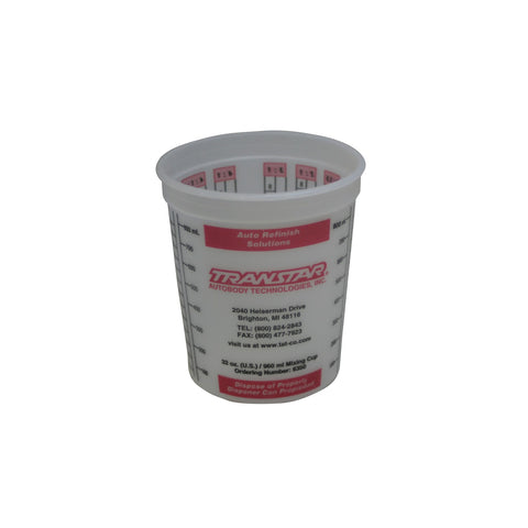 Disposable Mixing Cup