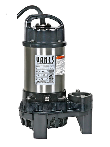 8PN 1hp, 115V Pond & Waterfall Pump, Stainless Steel, 5550 GPH