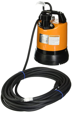 LSR2.4S-60 Low-Level Submersible Dewatering Pump, 2/3 HP