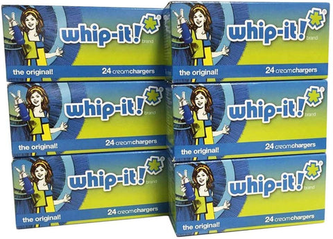 Whipped Cream Chargers, 24 Pack, Case Of 600