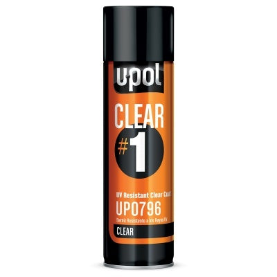 UPOL (1)0796 Clear Coat,(1)0874 Reducer,(1)741 Etch Primer Bundle