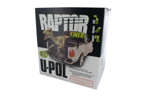 Raptor Urethane Spray-On Truck Bed Liner Kit with Spray Gun
