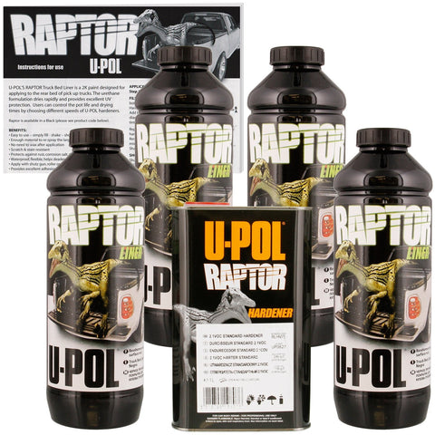 Raptor Bed Liner Kit and Texture Coating