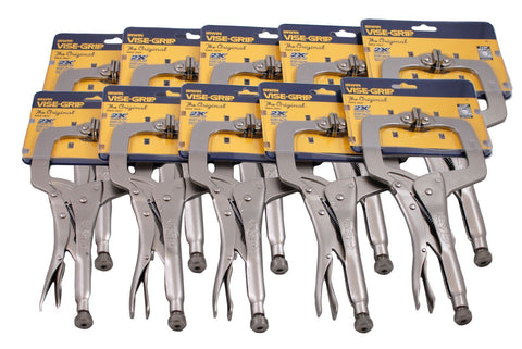 Locking C-Clamp with Swivel Pads
