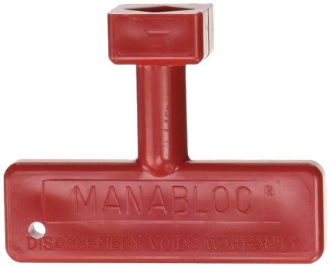 MBS136R 50601 New Style Red Key for Pex Manabloc