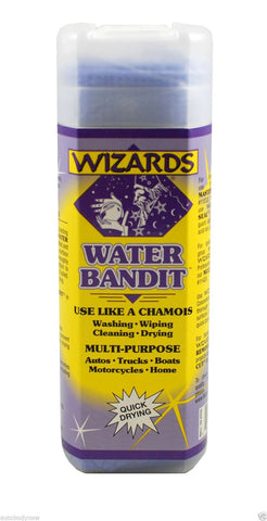Wizzards Water Bandit All Purpose Synthetic Chamois