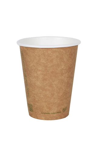 100% Biodegradable, 8 Ounce Coffee Hot Cup (Package of 200)