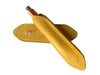 Clip Cover for MAT4+ in sueded leather, yellow ocra - VITTORIO MARTINI 1866