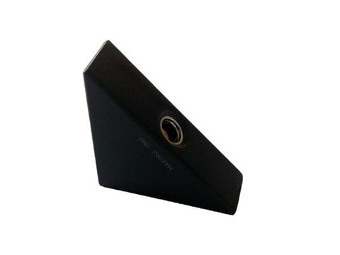 Wooden triangular pencil sharpener for MAT4+, colour black - VITTORIO MARTINI 1866