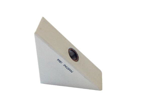 Wooden triangular pencil sharpener for MAT4+, white - VITTORIO MARTINI 1866