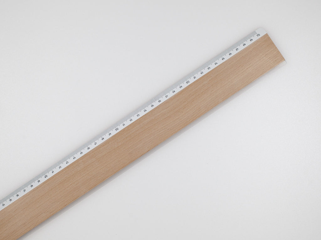 Wooden ruler, 70 cm - VITTORIO MARTINI 1866
