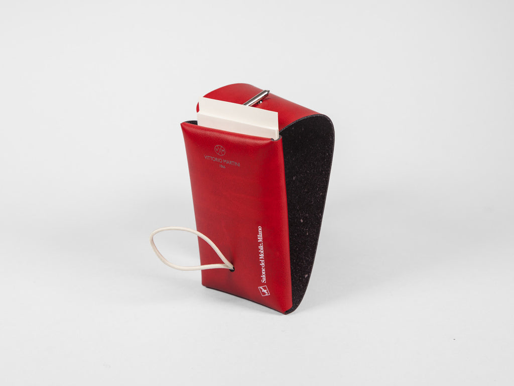 Pocket-sized business card/note paper holder - Salone del Mobile.Milano - VITTORIO MARTINI 1866