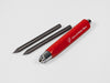 MAT4+ red colour with graphite refill - Salone del Mobile.Milano - VITTORIO MARTINI 1866