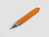 MAT4+ triangular pen - 4 refills, carrot colour - VITTORIO MARTINI 1866