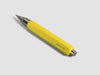 MAT4+ triangular pen - 4 refills, banana colour - VITTORIO MARTINI 1866