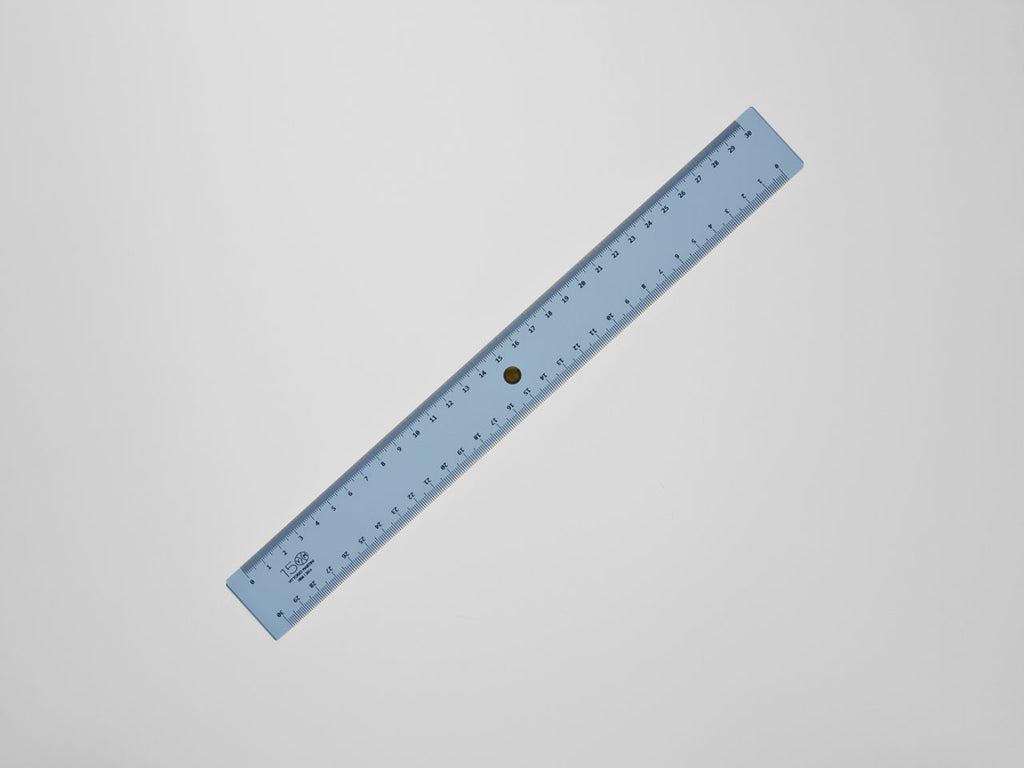 Decimeter 30 cm, light blue - VITTORIO MARTINI 1866