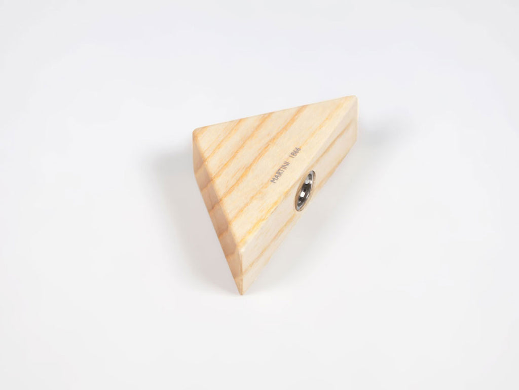 Wooden triangular pencil sharpener for MAT4+, ash wood - VITTORIO MARTINI 1866