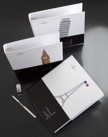 Vertical Masters ring binder