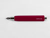 MAT4+ triangular pen - 4 refills, Venice red colour - VITTORIO MARTINI 1866