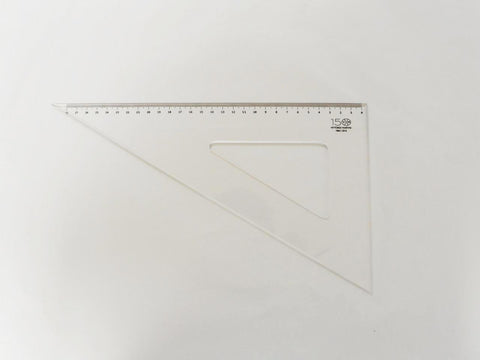 Left-handed square 15/30/35-60°, neutral colour - VITTORIO MARTINI 1866