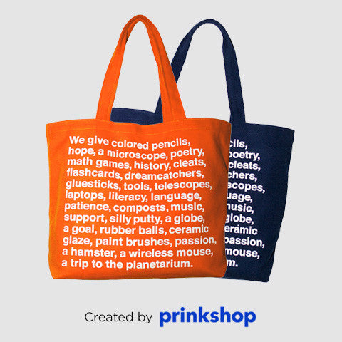 Tote by Prinkshop