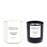 AYDRY & Co. Bohemian Forest Wooden Wick Candle