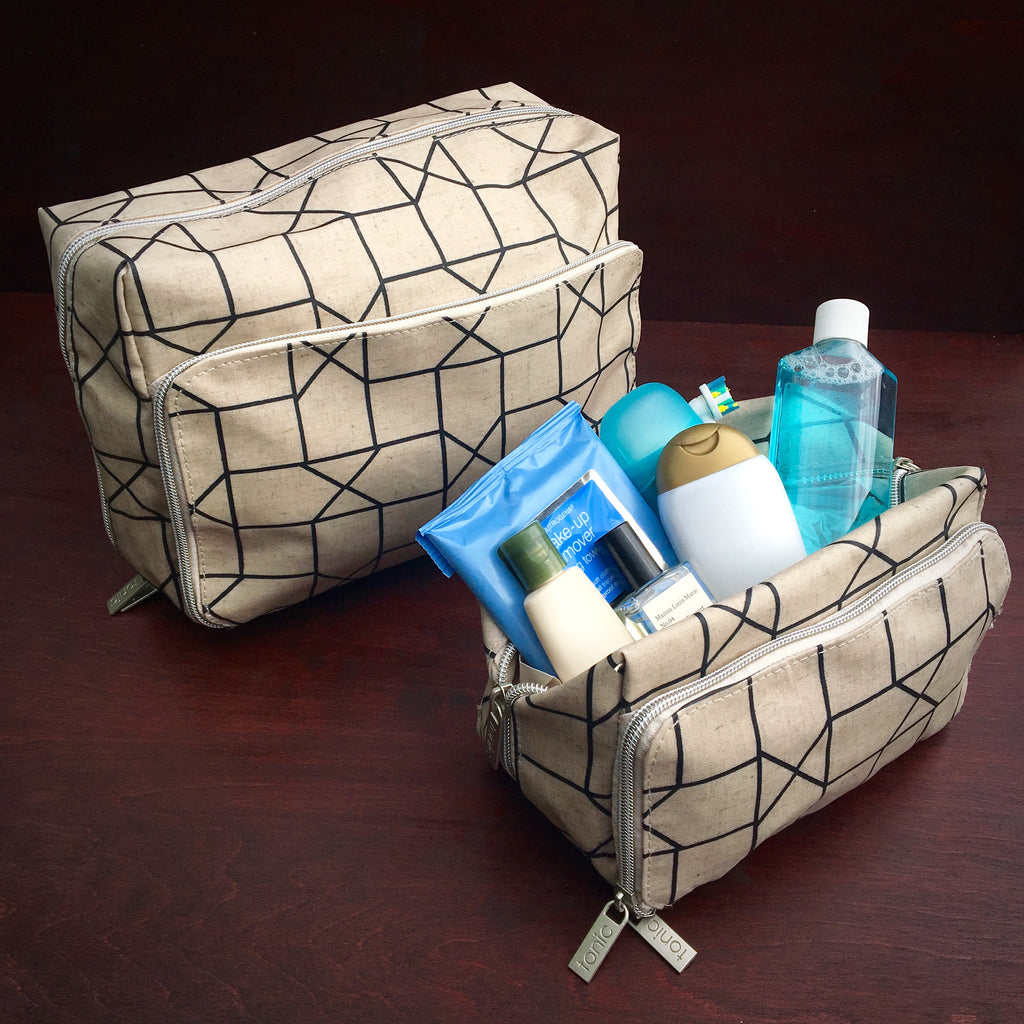 Tonic Toiletry Wash Bags
