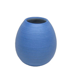 Pigeon Toe Ceramics Ribbed Bud Vase at Red Sail