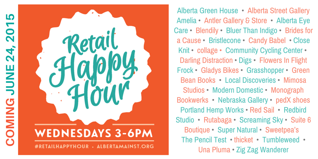 Alberta Retail Happy Hour