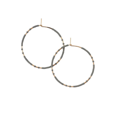 Chaldene Hoop Earrings