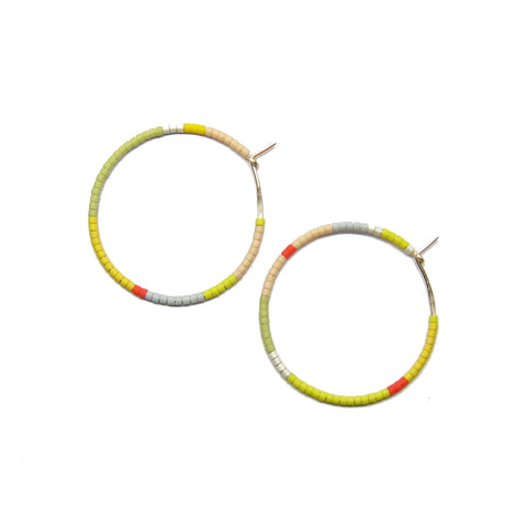 Small Toro Hoop Earrings