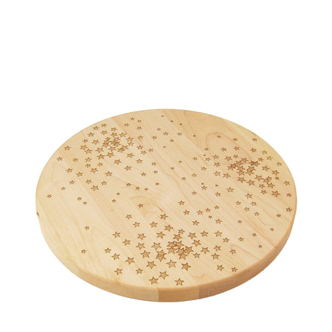 Star Pattern Circle Board