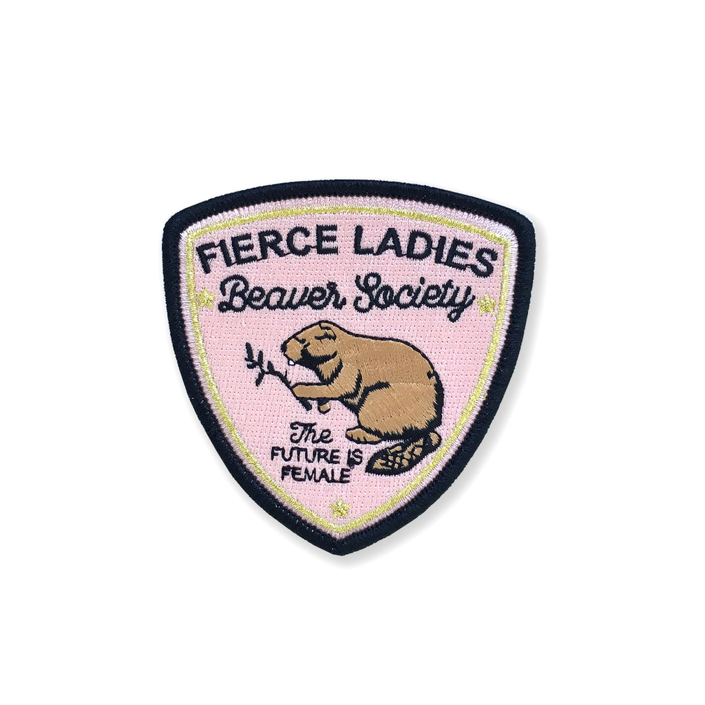 CLEARANCE - Beaver Society Patch