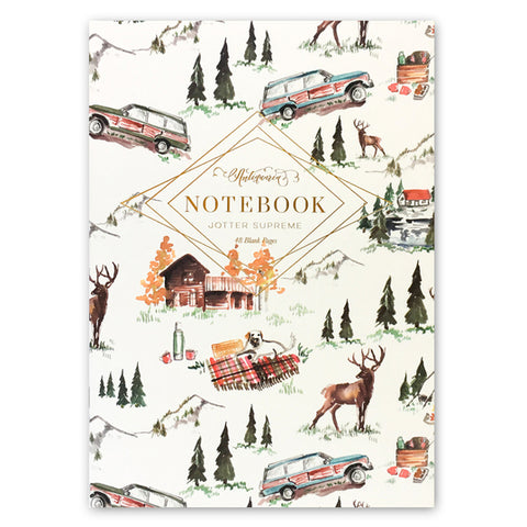 Alpine Lodge Jotter Notebook