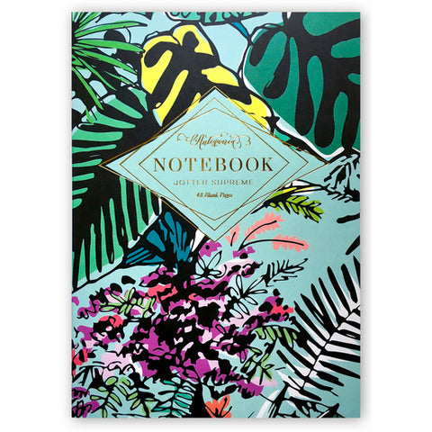 Tropical Garden Jotter Supreme Notebook