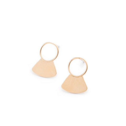 Rutsu Stud Earrings