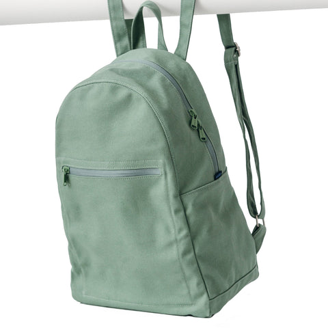 Canvas Zip Backpack