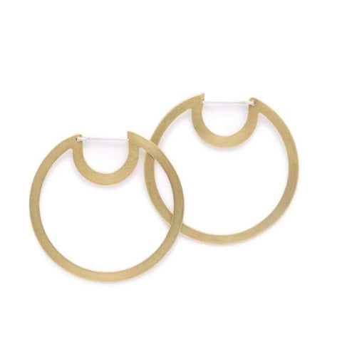 Small Bombona Hoop Earrings