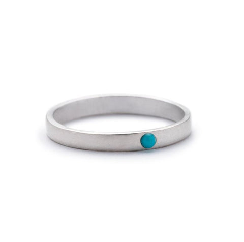 Sterling Silver Runa Ring