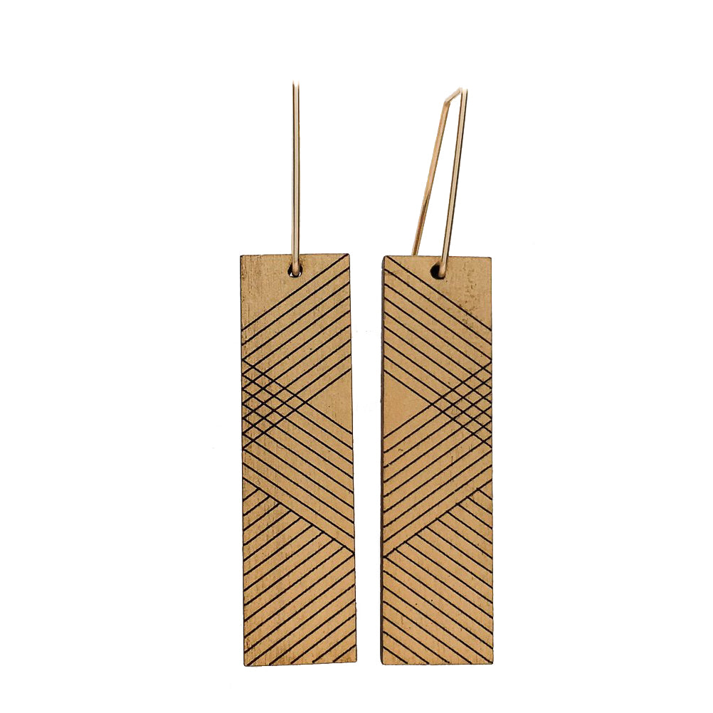 Wood Thora Earrings