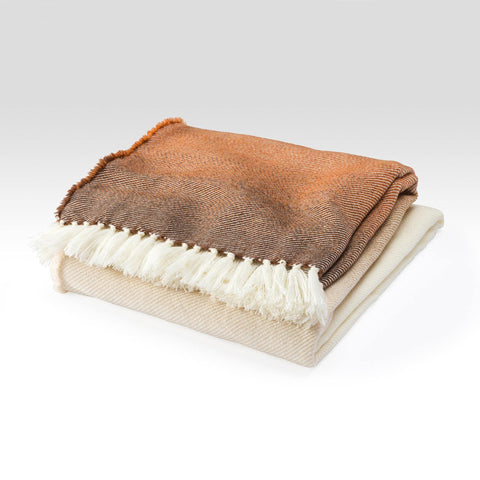 Ombre Wool Throw