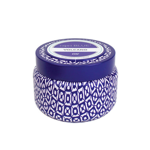 Printed Travel Tin Candle