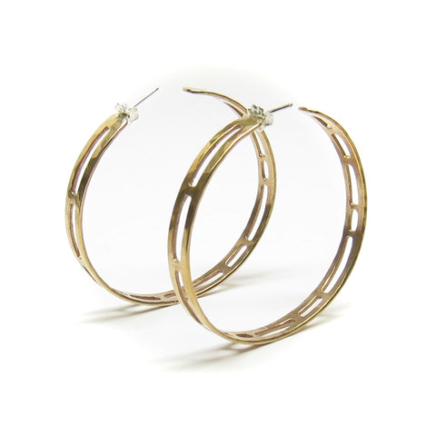 Flo Hoop Earrings