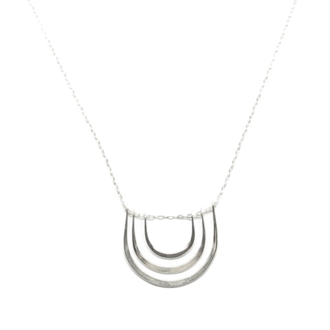 Triple Arc Necklace